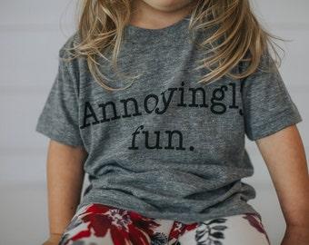 Annoying Fun Kids tee