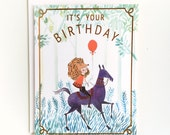 It's Your Birthday Card 1pc