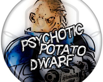Doctor Who- Inspired STRAX button
