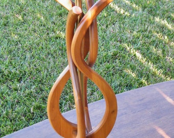Danish Modern Style Teak Table Lamp