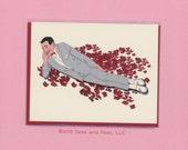 PEEWEE HERMAN VALENTINE - Funny Valentine Card - Peewee Herman - Peewee Herman Card - Pee Wee's Big Adventure - Valentine - Funny Valentine