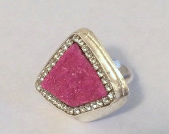 FALL SALE Pink Cobalto Calcite Sterling Silver Ring
