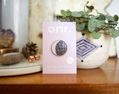 Moon Phase Enamel Lapel Pin Badge // Limited Edition of 100