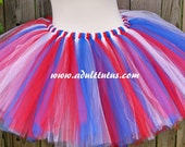 Red White and Blue Tutu Adult Teen Child Tutu Super Hero