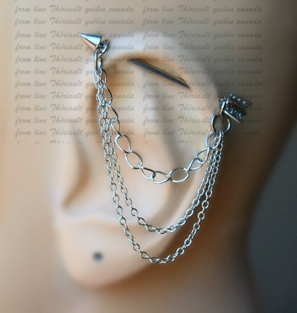 arrow industrial barbell industrial piercing jewelry