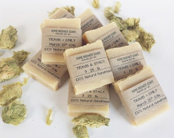 Beer Soap - Craft Beer Soap - Fall Wedding Favors - Craft Beer Wedding Favor - Soap Wedding Favors Fall - Beer Wedding- Fall Wedding Gifts