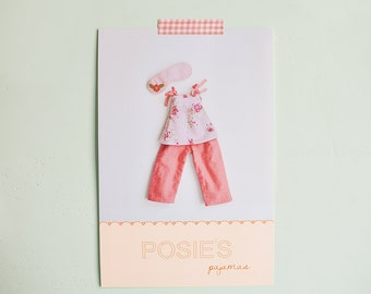 Posie's pajamas pdf pattern/tutorial