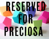 RESERVED for Preciosa - DIY Geometric Paper Ornaments with Priority Express Shipping - 2 Sets of 8 Paper Polyhedra Templates