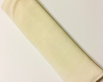 Organic Bamboo Fleece and Velour Prefold Cloth Diaper