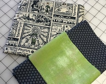 Legend of Zelda Comics Pillowcase Kit - all three pieces of fabric needed to sew a customized pillowcase