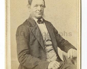Frank Forshew - Hudson, Ny - 19th Century Carte-de-visite Cdv Photograph