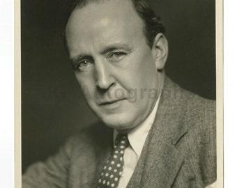 Dudley Digges - Irish Stage, Film Actor - Original 8x10 Portrait by Ben Pinchot