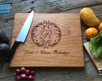 Engraved Cutting Board, Personalized Gift, Wood Cutting Board, Wedding Gift, Housewarming Gift, Anniversary Gift