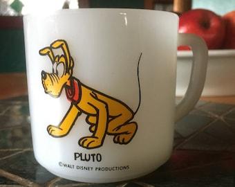 Disney's or I Should Say Mickey's Pluto Mug
