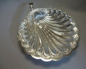 Silver Plate Crackers Vegetable Shell Serving Bowl Tray Candle Stick Holder S Silver Plate Trademark
