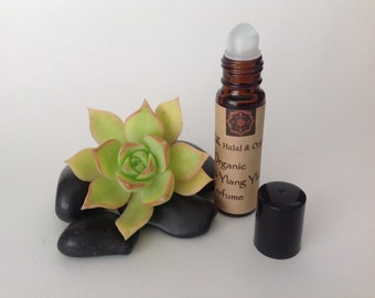 SILK Organic Roll On Organic Jojoba Perfume Choose your Essential Oil and Create your own blend