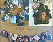 Hogwarts Inspired Goodies Garland Banner