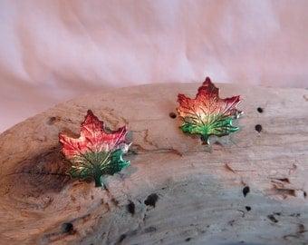 Leaf Earrings, Earrings, Leaf