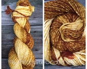 Hand Dyed Yarn, Gradient Yarn, Bulky Yarn, Merino Wool