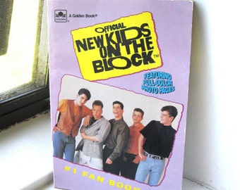 Vintage New Kids On The Block Book/NKOTB