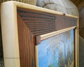 Made to Order Picture Frame Hand Crafted Rustic Wooden