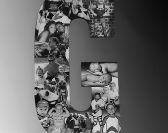 Family Photo Gift, Professional Photo Collage for Christmas Gift, Birthday Gift, Anniversary Gift, Bosses Gift