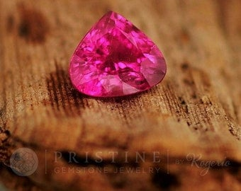 Pink Tourmaline Fancy Shape Gemstone for Engagement or Anniversary Ring October Birthstone