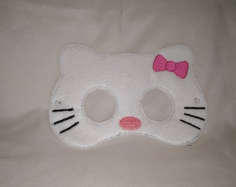Hello Kitty Felt Mask