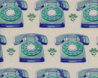 Melody Miller Trinket Aqua Telephones Cotton and Steel