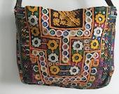Tribal Gypsy Textiles Indian Banjara Cross body Messenger Bag