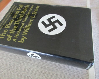 vintage book-The Rise and Fall of the Third Reich -1960