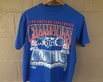 Vintage 1995 Eastern Conference Champions Orlando Magic T-shirt