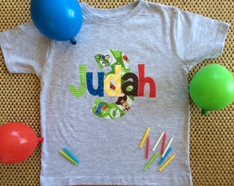 Toy Story Birthday Shirt, Personalized Toy Story Birthday Shirt, Buzz Woody Birthday Shirt