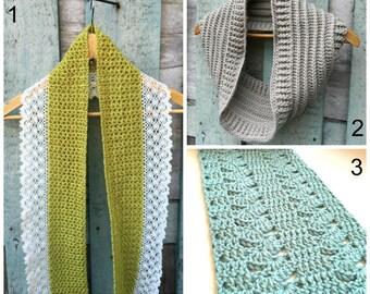 Free crochet pattern, Free crochet scarf pattern, Crochet pattern, Crochet scarf pattern, Crochet Cowl Pattern, Buy 2 get 1 for free,