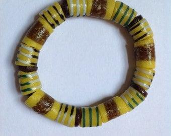 Yellow African Bracelet