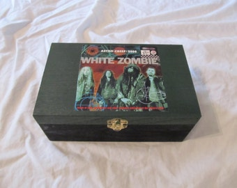 White Zombie Stash Keepsake Box