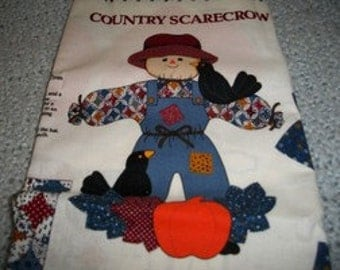 Country Scarecrow Doll Fabric Panels
