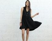 SALE + SALE!Collage Dress, Black.