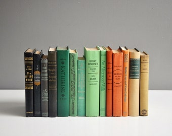 Vintage Fall Book Collection