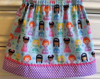 Princess Perfect  skirt ( 2T, 3T, 4T, 5, 6, 7, 8, 10)