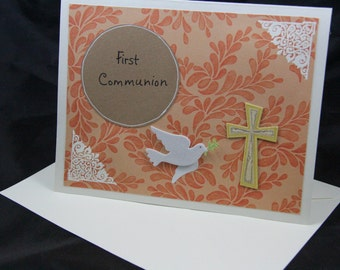 First Communion handmade card