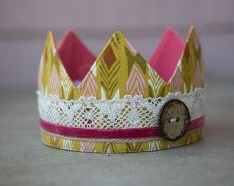 Fabric Crown - Princess Cara