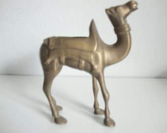 Brass Planter, Camel Planter, Floral Planter,  Trinket Box, Brass Statue