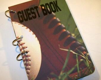 Guest Book, Baseball Party, Baseball Birthday,  Party Sign in Book, Baseball Birthday Guest Book, Sports Party Decor