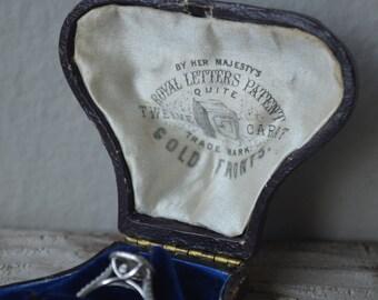 Antique Jeweler's Box