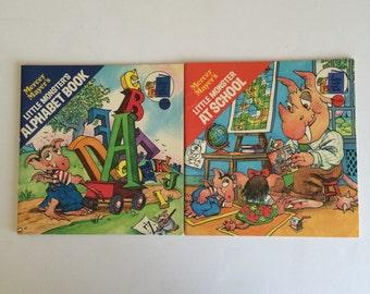 Two 1978 Mercer Mayers Little Monsters Books