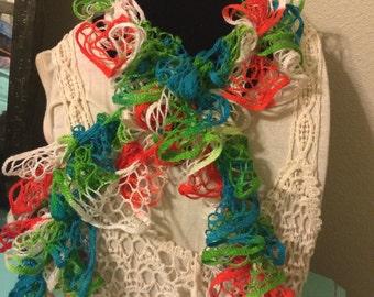 Lightweight Tie Dye Neck Scarf, Free Shipping USA