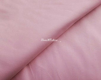 Light pink, solid color, 1/2 yard, pure cotton fabric