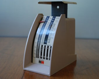 Vintage Large Hanson Postal Scale - Letter Scale - 1960's Retro - Desktop - Industrial - Mailing Supply
