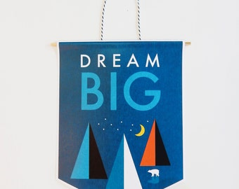 Dream Big, wall hanging